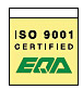 ISO 9001 certified system ISO 9001 certified by EQA - European Quality Assurance Limited, U.K.