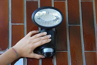 Lampade antifurto ad energia solare - Lampade a energia solare da interno ...